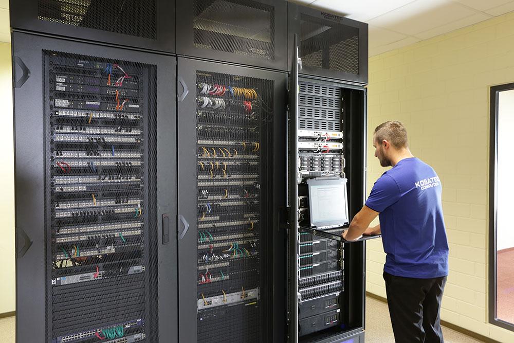KOSATEC Serverraum 1