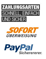 Zahlungsarten - Bezahlen bei Kosatec Computer - schnell, einfach und sicher!